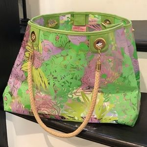 Lilly Pulitzer pool & beach bag